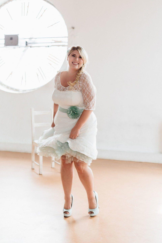 petticoat brautkleid bis konfektionsgröße 52 – unser 50er