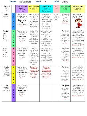 Fun In First Grade Lesson Plans Teaching Pinterest School