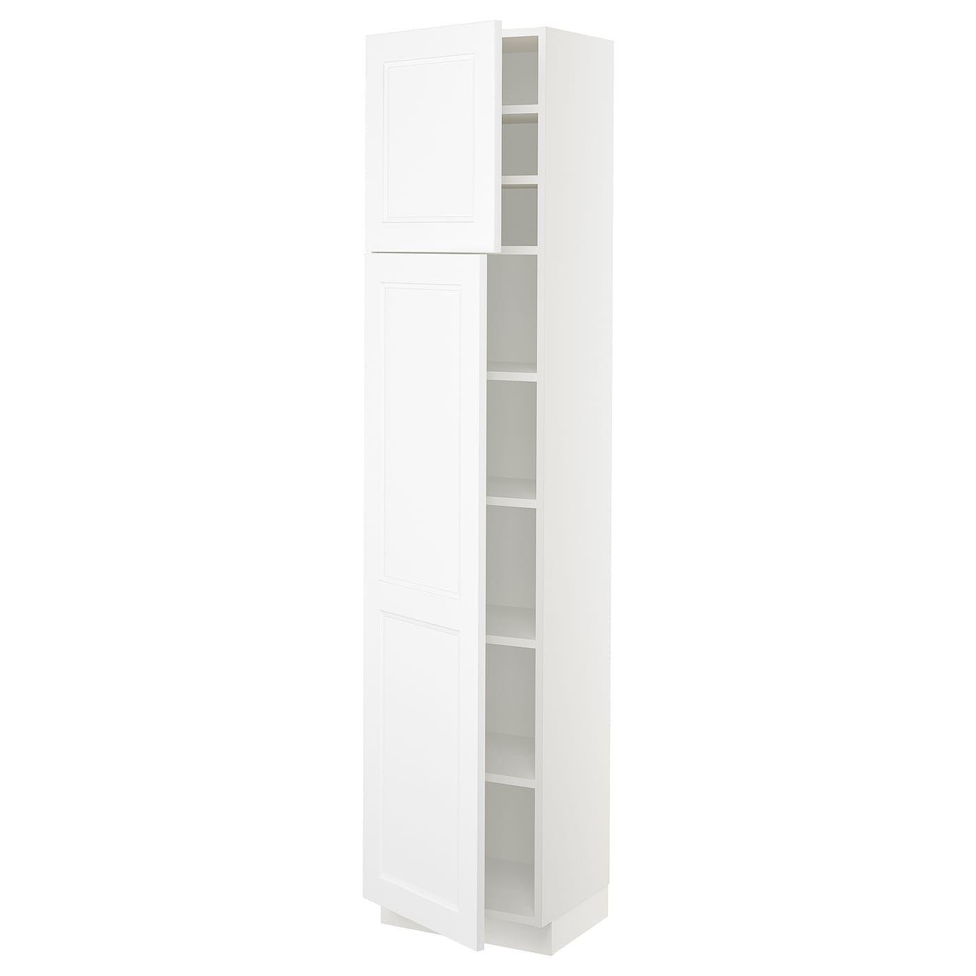 Best Ikea Sektion White Axstad Matt White High Cabinet With 640 x 480