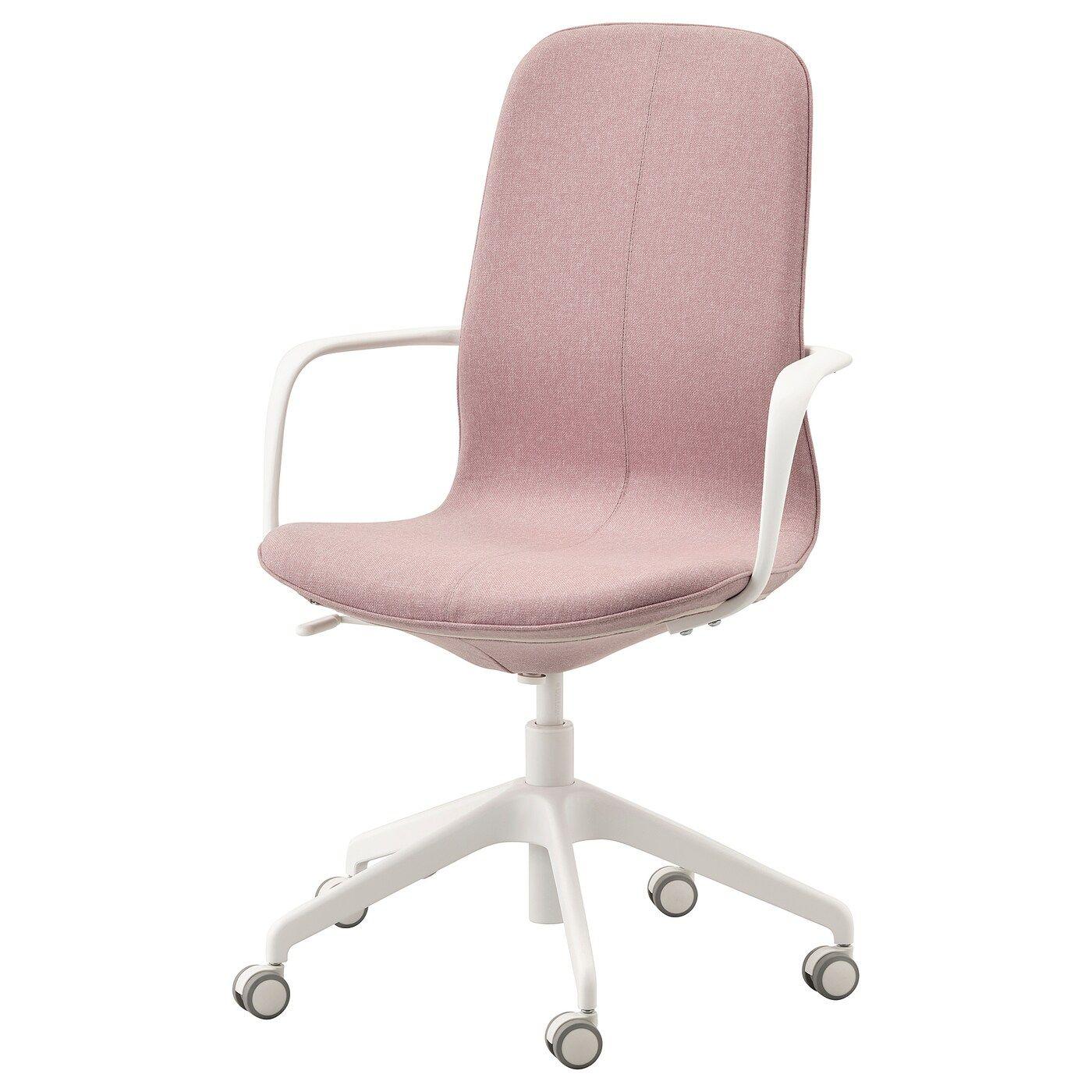 Tendance Pastel Salon Design Rose Poudre Blush Canape Lampadaire Fauteuil En Lin Bobochic En 2020 Canape Rose Chaise De Bureau Fille Mobilier