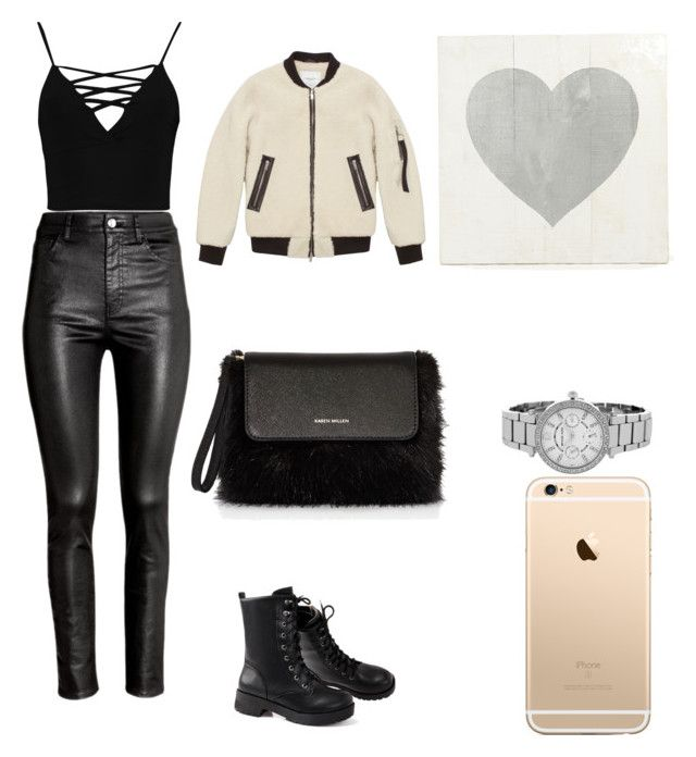 """💫"" by tamta-javakhishvili ❤ liked on Polyvore featuring H&M, Boohoo, Karen Millen and Michael Kors"