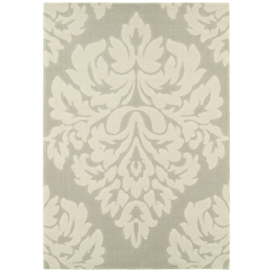 Balta Group Large Damask Gray Area Rug At Lowe S Canada Find Our Selection