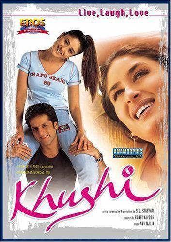 Khushi 2003 450MB Hindi 480p DVDRip ESubs Free Download