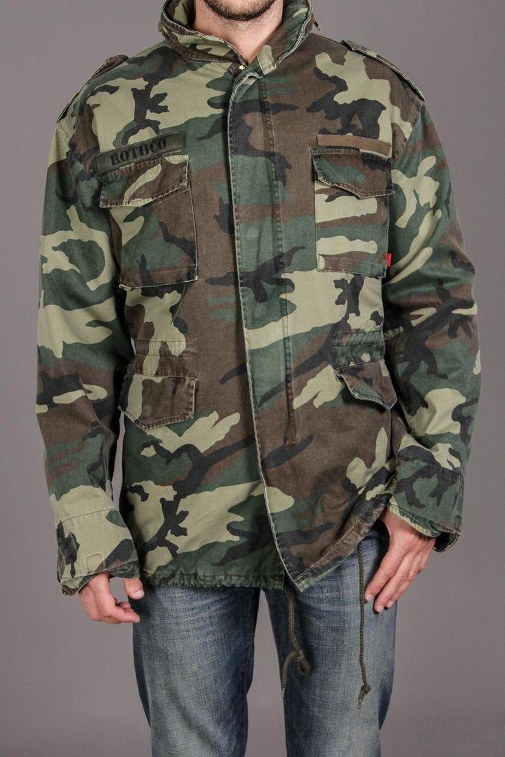 08e0fc63c80 M-65 Field Jacket   Rothco
