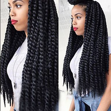 Find More Bulk Hair Information About Crochet Freetress Equal Synthetic Braids Havana Twist Style Cuban High Quality Dress China