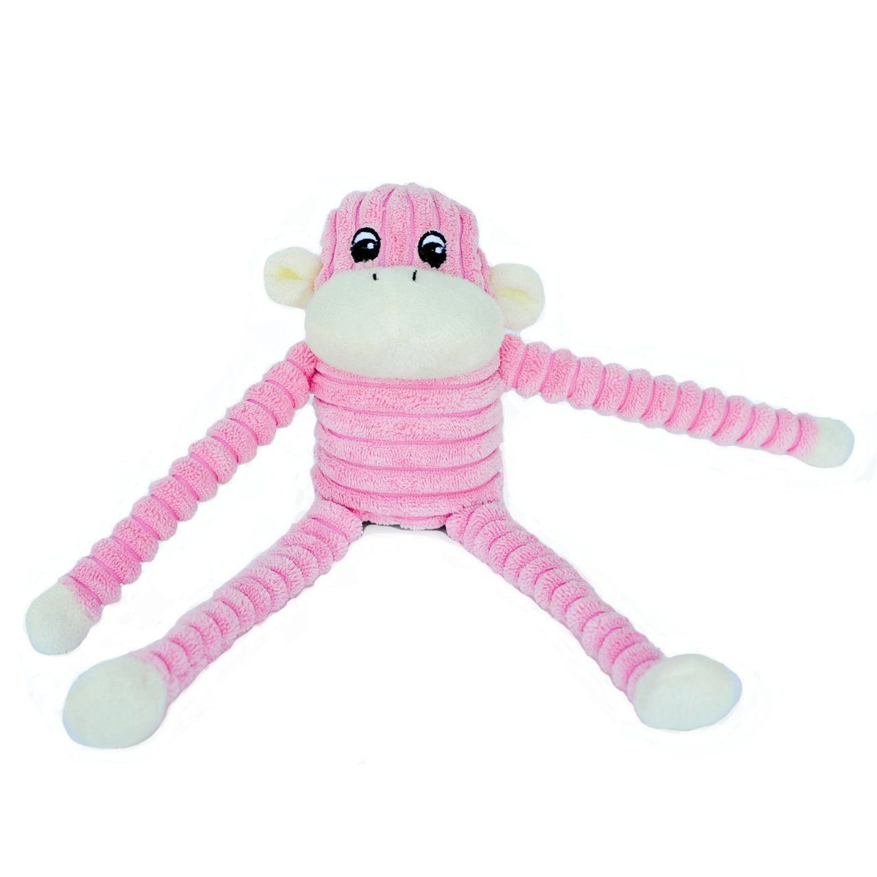 Pink Plush Squeaker Monkey Dog Toy Dog Toys Small Dog Toys Plush