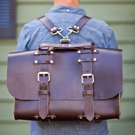 No. 4311r - Standard Grunge Satchel - Limited Supply :: ColsenKeane.com // Custom Leather Products :: Handmade Leather Products, Cases for iPhone, iPad, MacBook