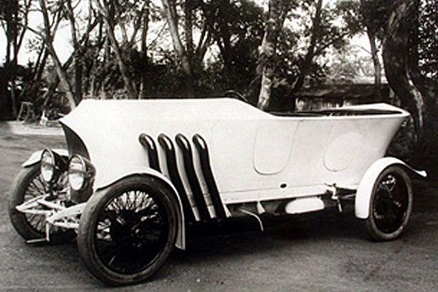 1909 Austro-Daimler Prinz Heinrich Wagen (Porsche design for Prince Elias of Parma) by kitchener.lord, via Flickr