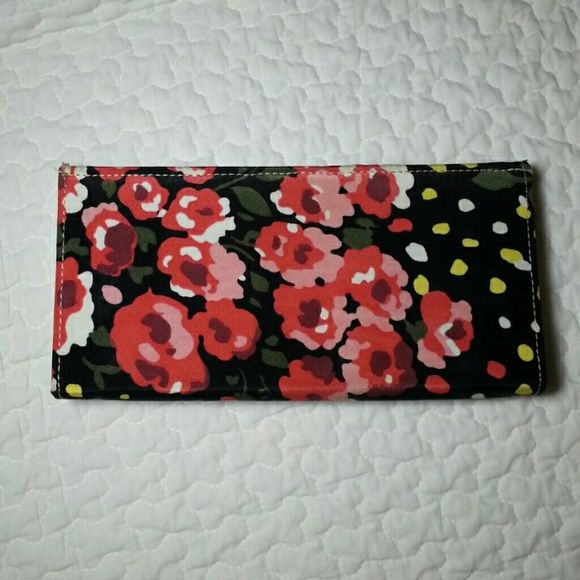 Floral Wallet Cute wallet from Urban Outfitters with floral design. Card slots and coin holder. No rips or damage. BDG Bags Wallets