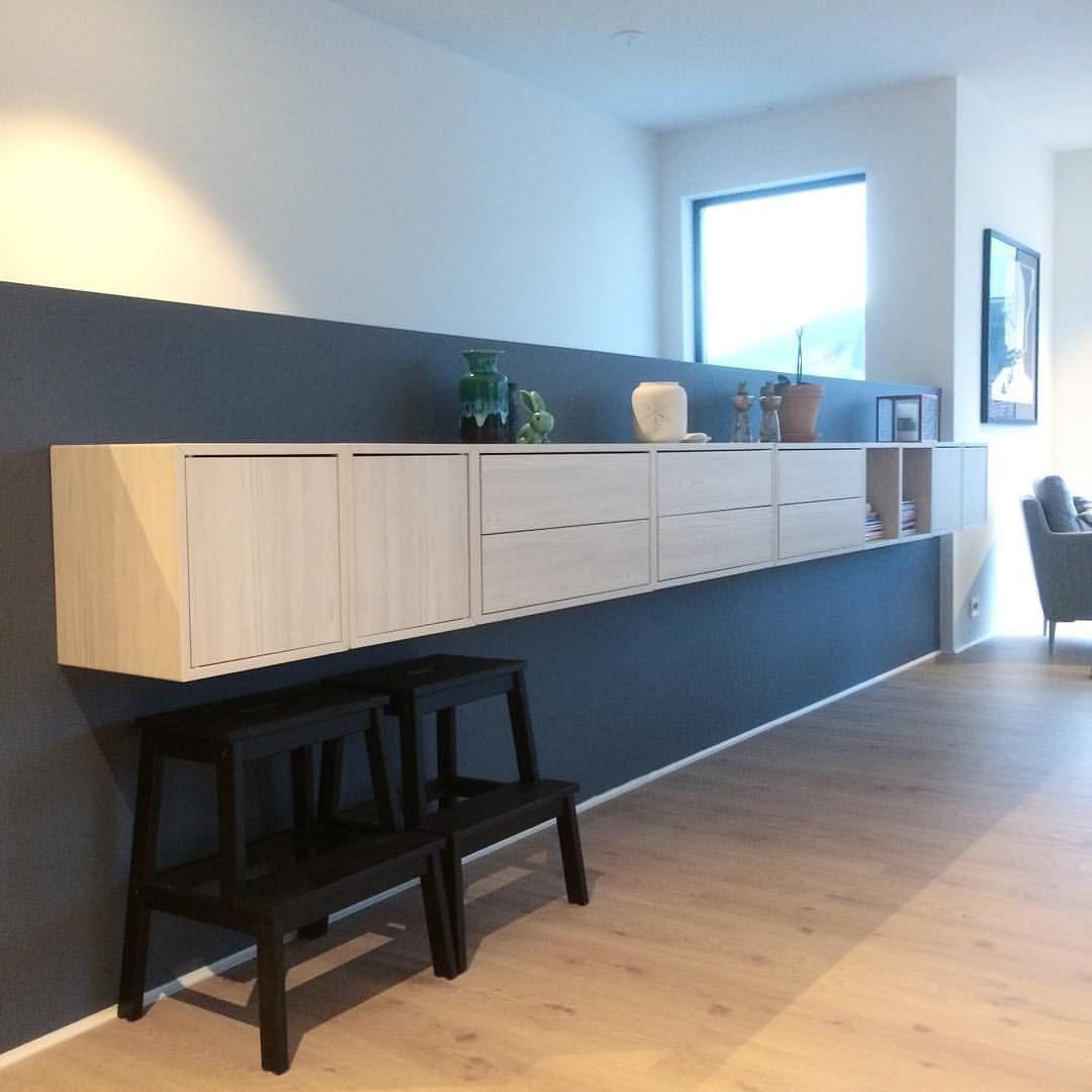 Ikea Valje Shelving System Hyller Interior Stue