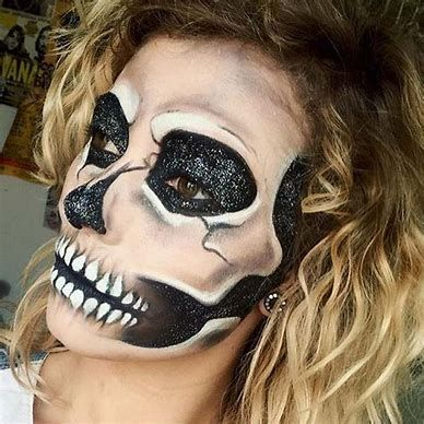 100 scary and unique halloween makeup ideas  halloween