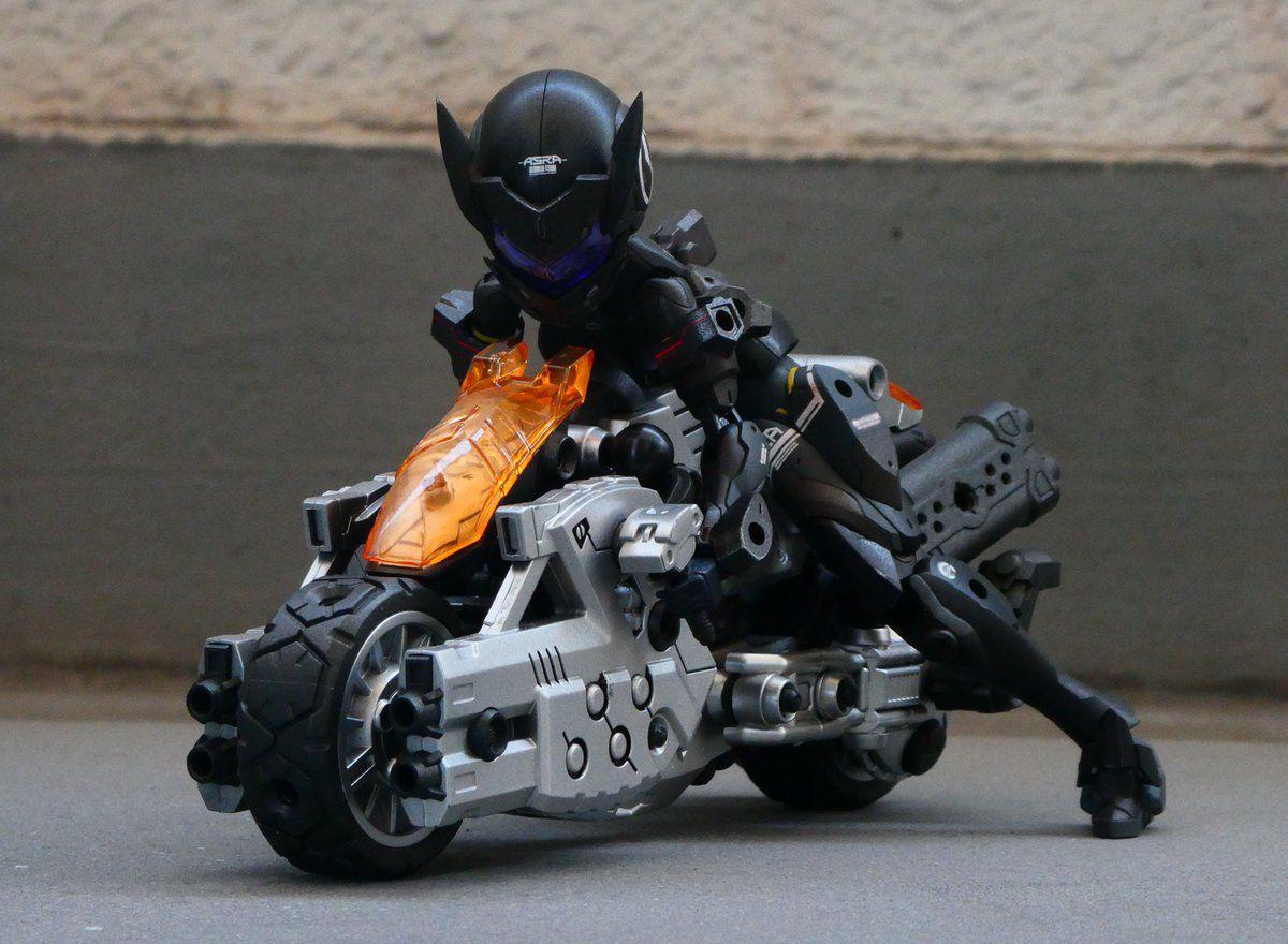 DizKGx8U8AAvcLG (1200×880) Anime motorcycle, Cool robots