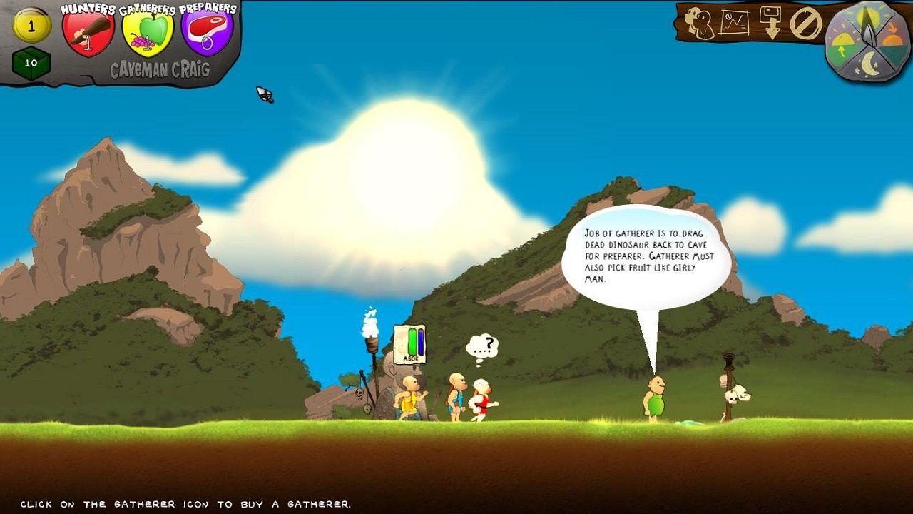 Симулятор пещерного человека скачать торрент игру