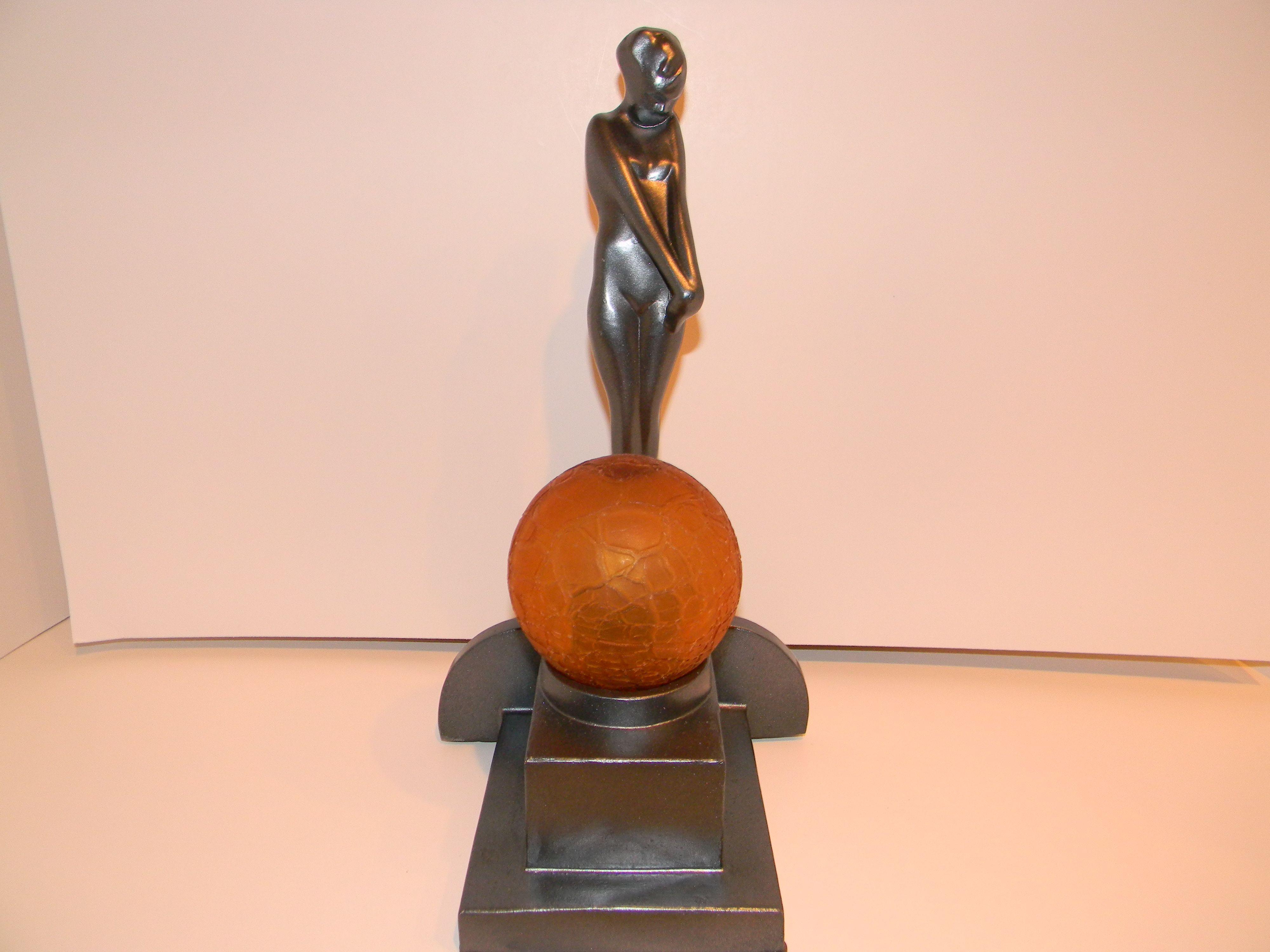 in antiqued republic statue stock bronze home lighting floor oly coco lights lamp homewares klemm