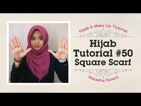 Tutorial hijab segi empat paris -yhatni patuti youtube.