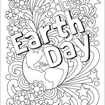 Earth Day Coloring Page Earth Day Coloring Pages Earth Day