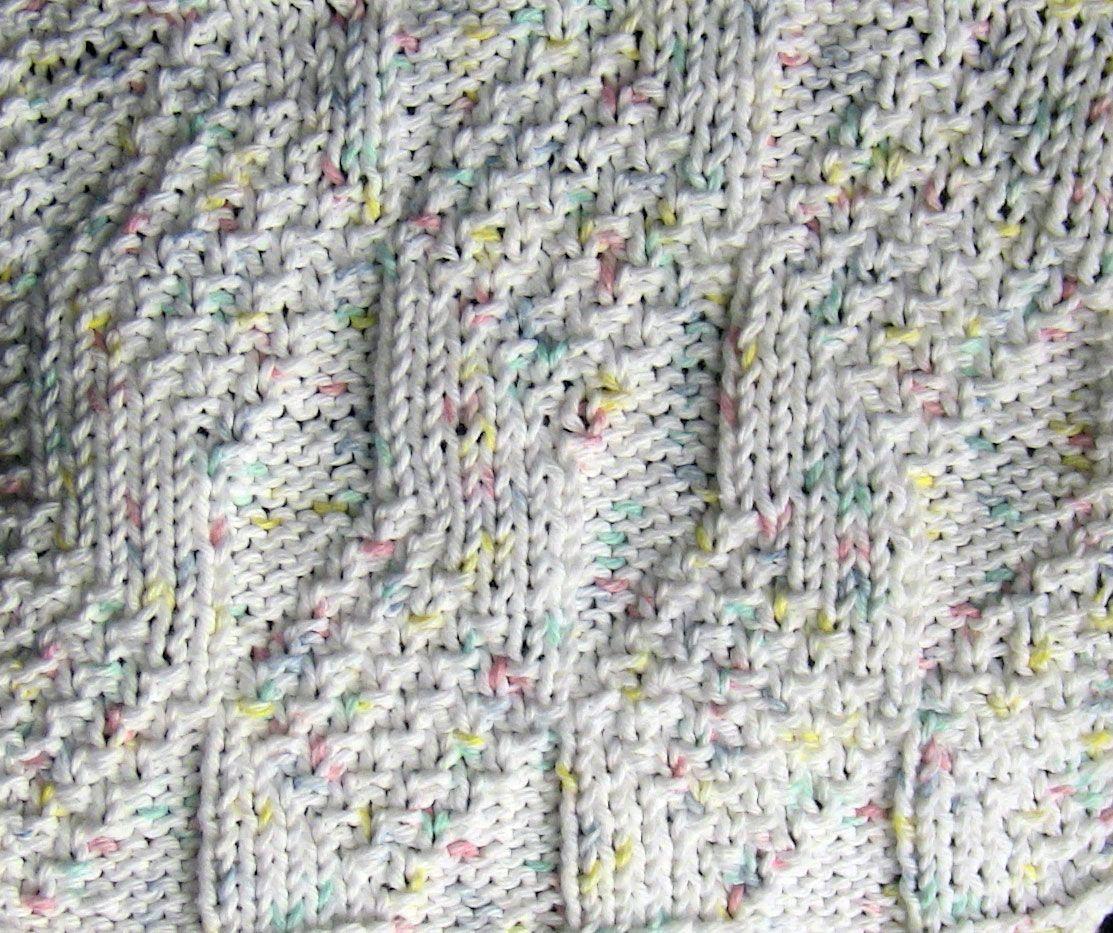 Sapphires-n-Purls: A Knitting Blog: Knit Along: Diamond and Lozenge ...