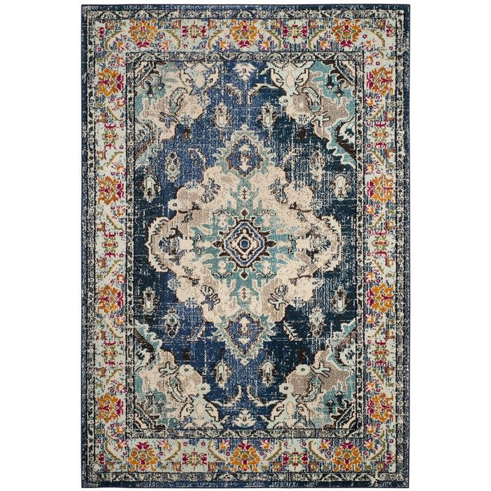 Free Spirited And Vibrantly Colored Shakti Collection Rugs Bring Bohemian Chic Flair To Folkloric And Forma Light Blue Rug Light Blue Area Rug Safavieh Monaco