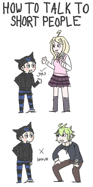 Danganronpa V3 Pictures How To Talk To Short People V3 Version