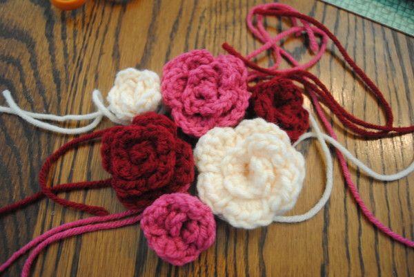Free Spring Crochet Flower Pattern Rosettes Crochet Flower