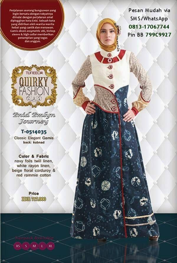Katalog Tuneeca Quirky Fashion 2014 Cantik Berbaju Muslim Busana Batik Busana Islami Gaya Hijab