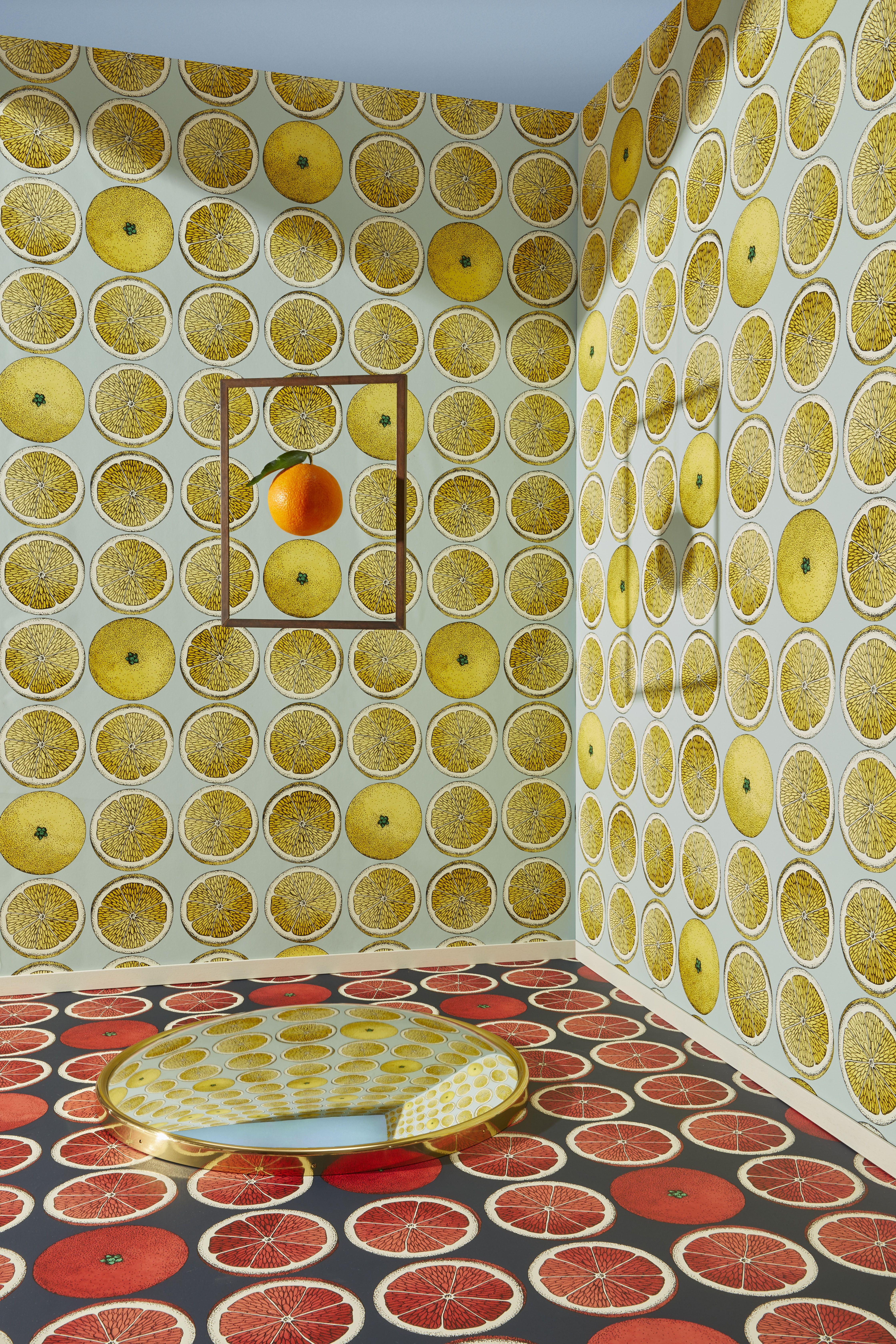Arance By Fornasetti For Cole Son Wallpaper Inspiration In