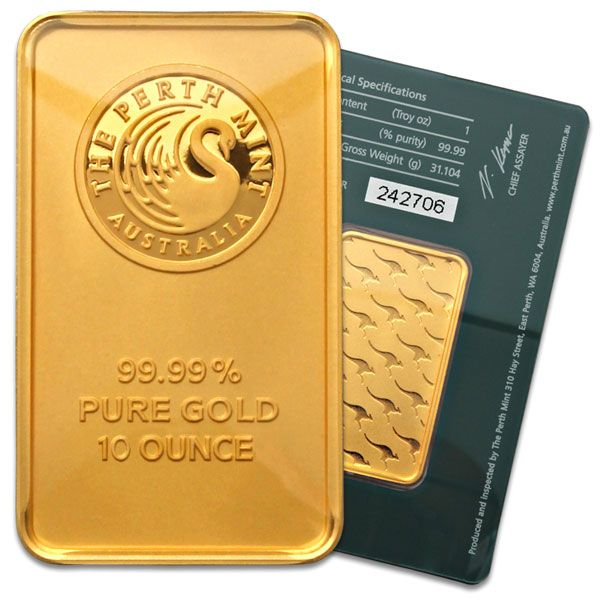 Gold Bar 10 Oz From Independent Living Bullion Gold Coin Price Mint Gold Gold