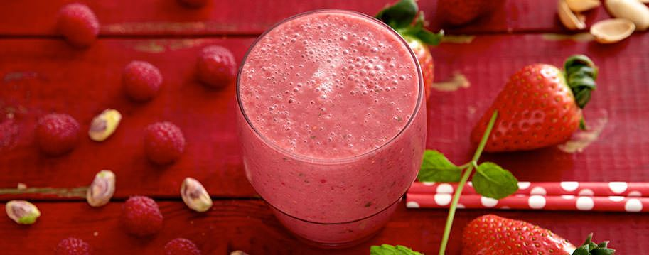 Pure red love smoothie