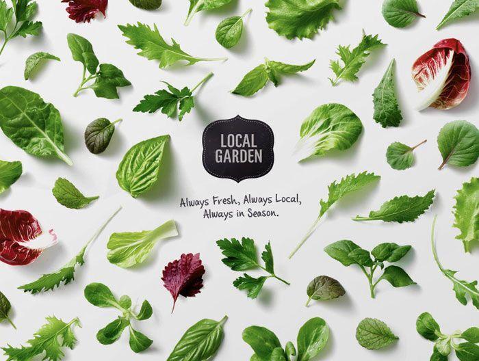 Küchenposter Kräuter ~ Garden herbs garten kräuter print a ldflowers wilde