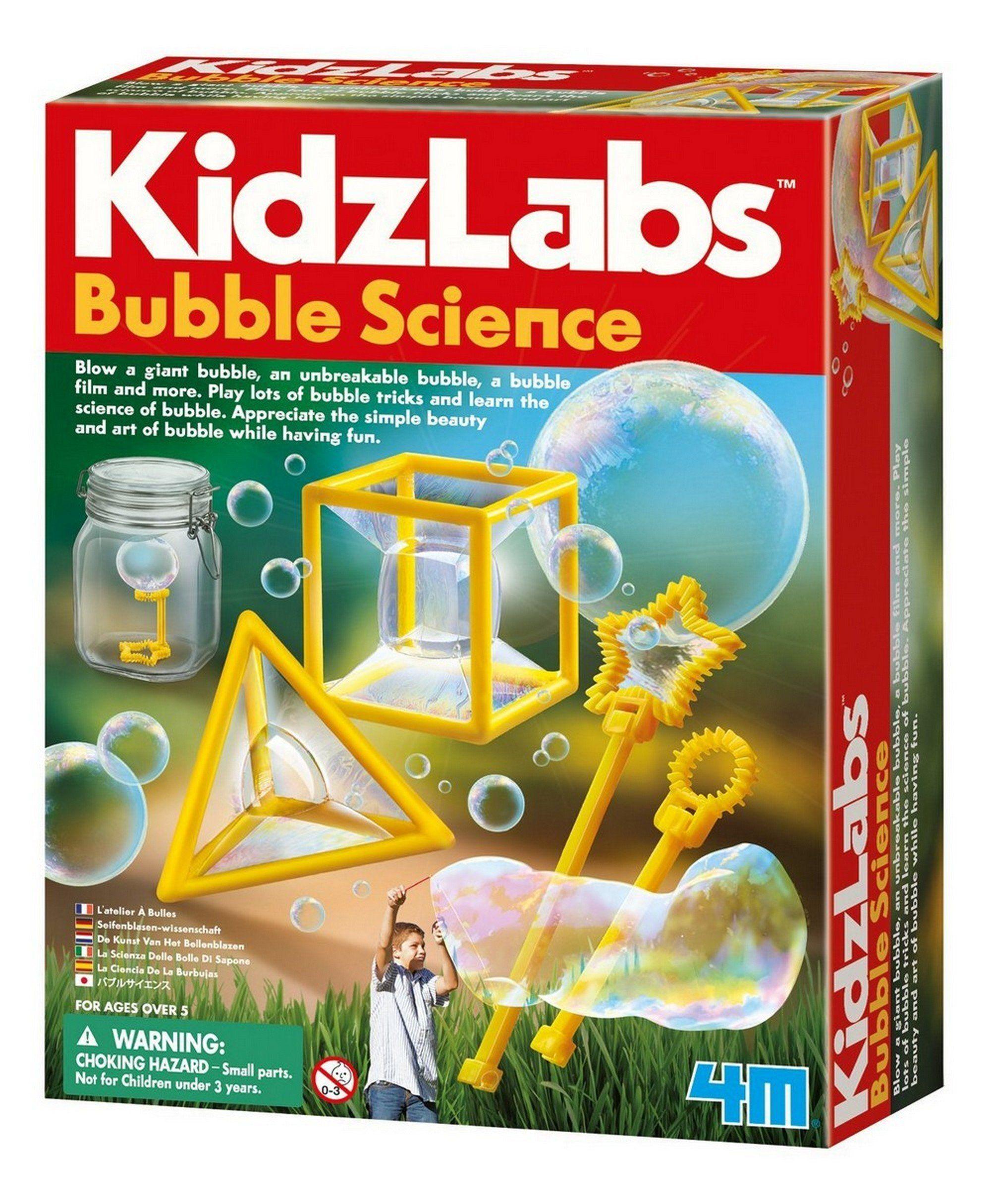 4 M Kidz Labs Bulles Science In