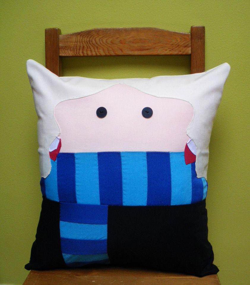 Loony girl pillow by ~wdkimmy on deviantART    Luna Lovegood pillow