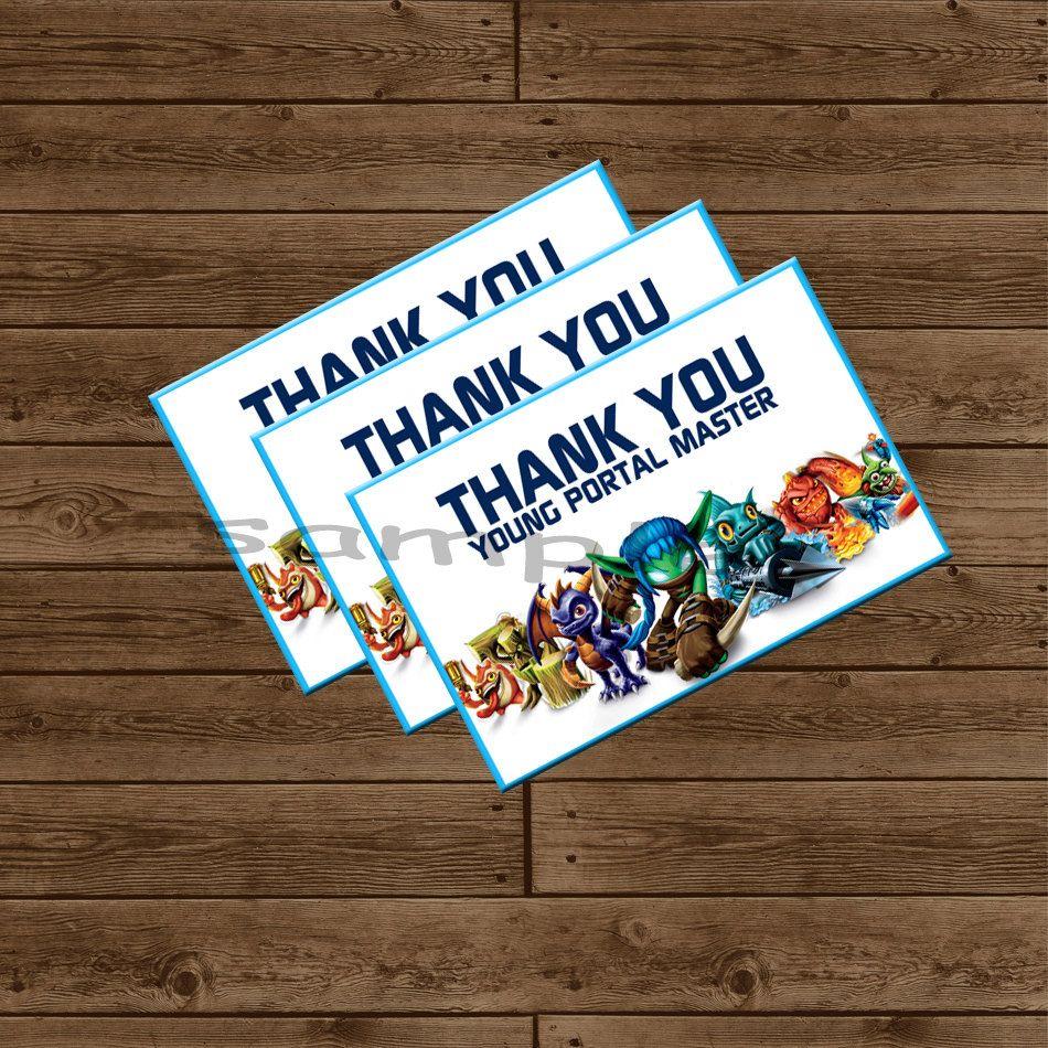 Skylanders printable thank you card by alilfrostingshop on etsy skylanders printable thank you card by alilfrostingshop on etsy 400 bookmarktalkfo Choice Image