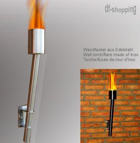 BLESSURE-DE-TORCH-FLARE-LAMPE-DE-JARDIN-BALCON-CHEMINEE   Wall ...