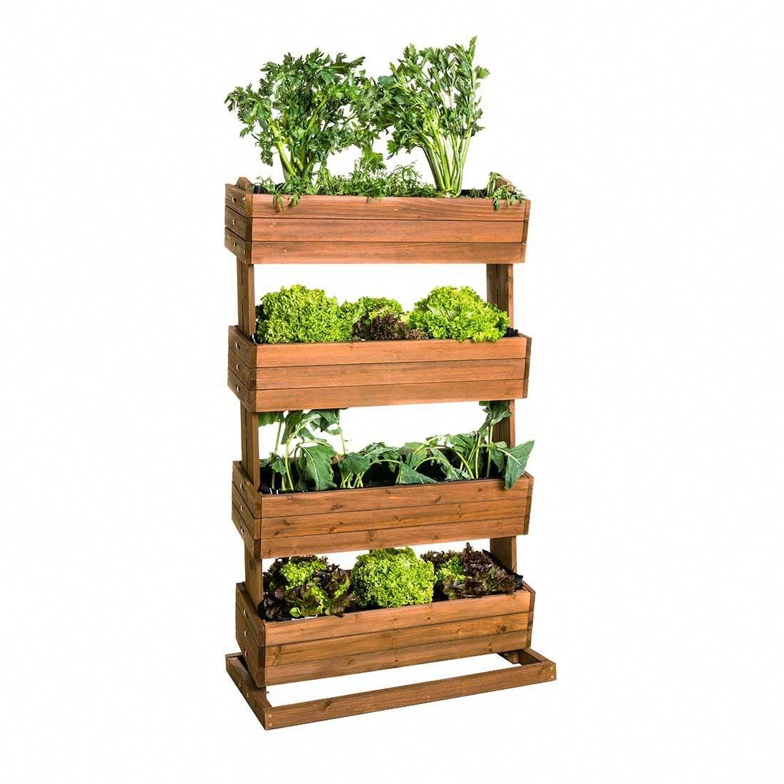 Hecht Cube 4 Hochbeet Vertikal Tanne Urbangardeningbalcony Growing Vegetables Planting Herbs Annual Plants