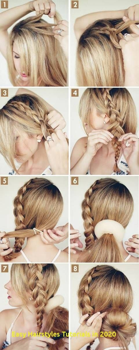 96 Awesome Easy Hairstyles Tutorials In 2020 -   9 hairstyles Long step by step ideas