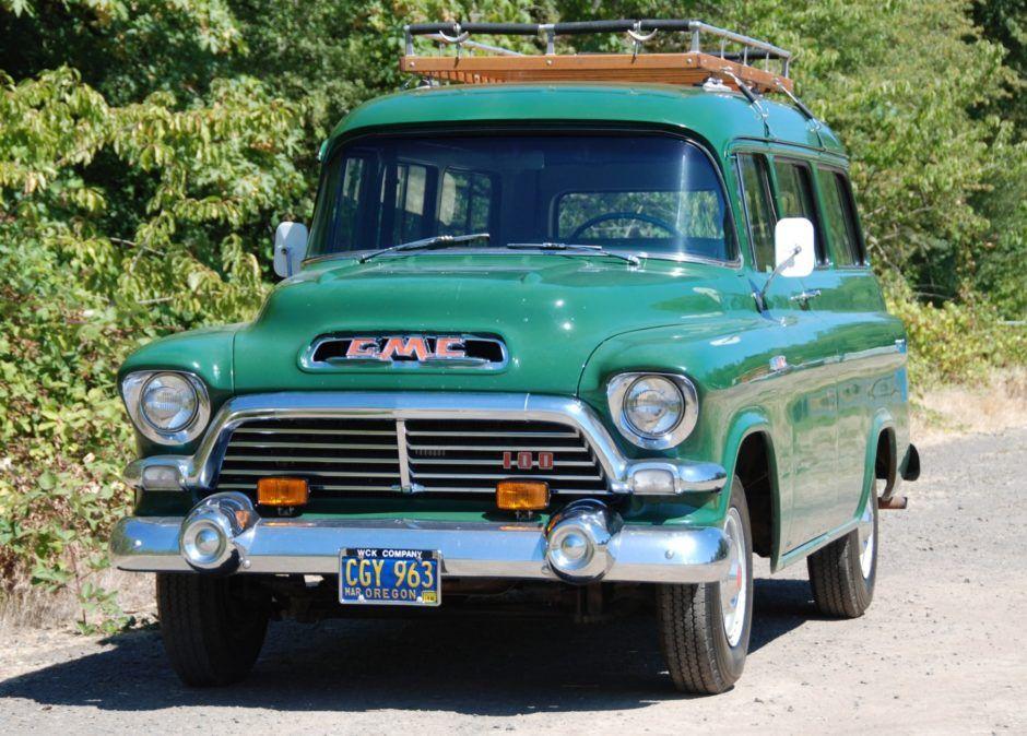 1957 Gmc Carryall Gmc Trucks Chevy Trucks Gmc