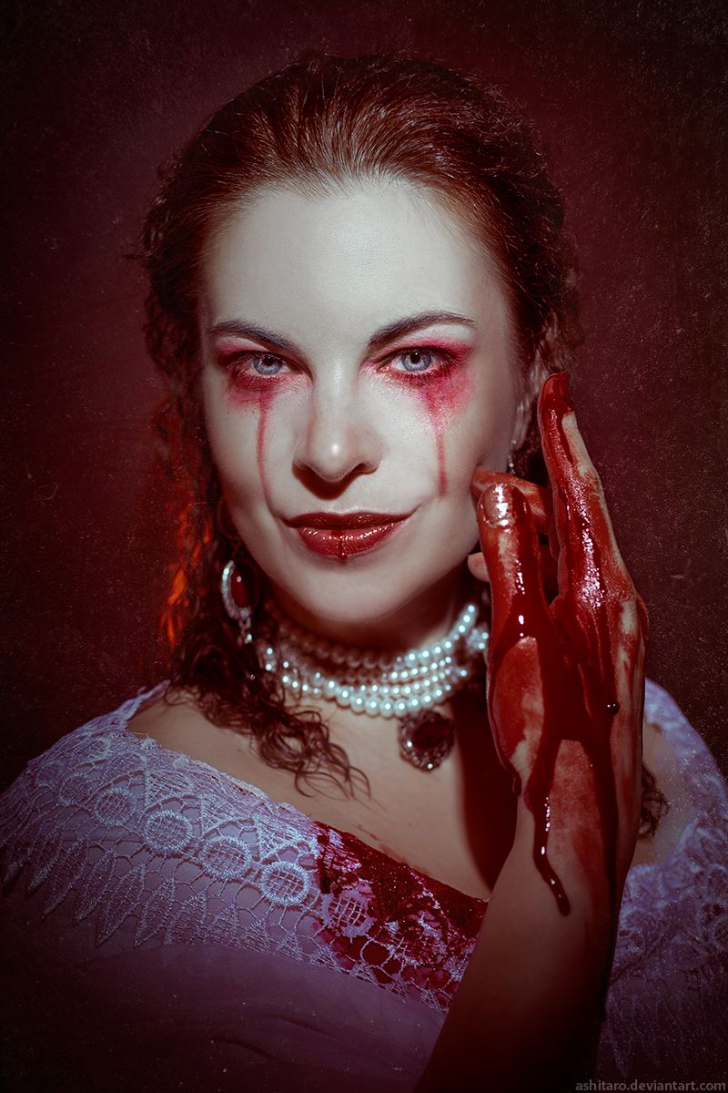 Range Maquillage Blood On Lace, Elizabeth Bathory By Ashitaro.deviantart