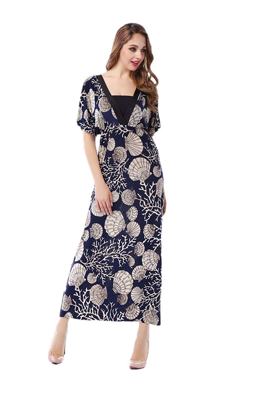2273189e56a73 Boho Long Sleeve Maxi Dress Plus Size | Saddha