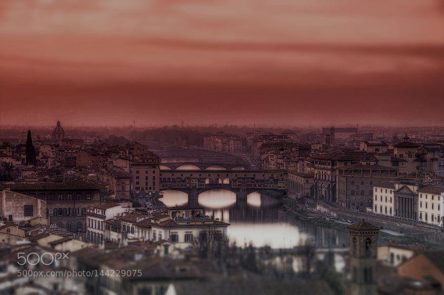 Popular on 500px : Florence sunset by YusufGurel