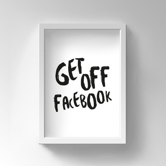 inspirational posters for office. Items Similar To Printable Motivational Poster, Office Decor, College Student Gift, Get Off Facebook, Focus, Inspirational Quote, Wall Art On Posters For S