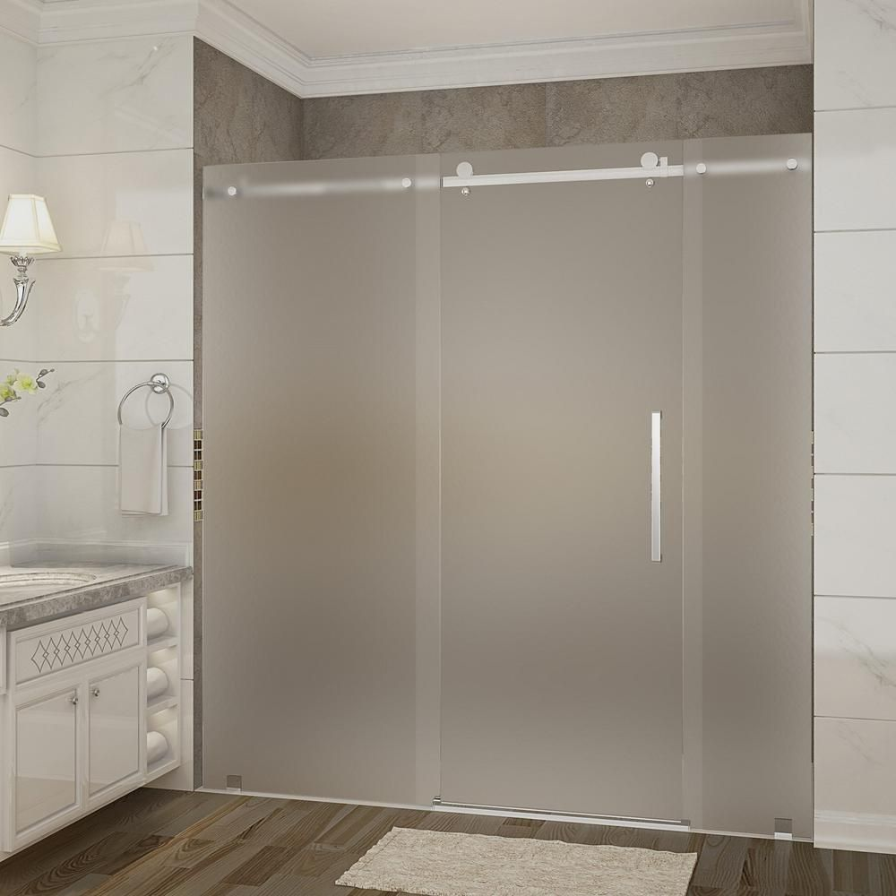 Aston Moselle 72 In X 35 In X 775 In Frameless Sliding Shower