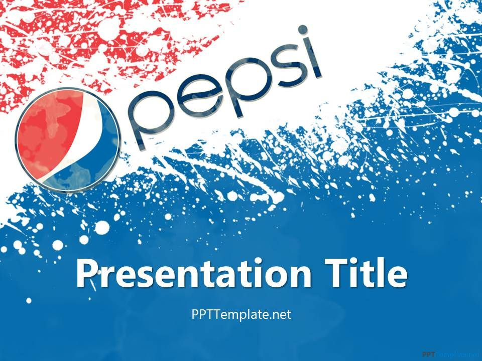Free pepsi ppt template pepsico template pinterest ppt free pepsi ppt template toneelgroepblik Images