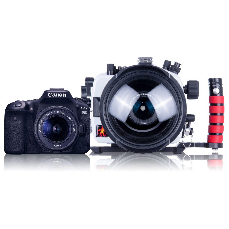 200dl Underwater Housing For Canon Eos 90d Dslr Cameras Dslr Camera Bag Insert Digital Camera Dslr Camera