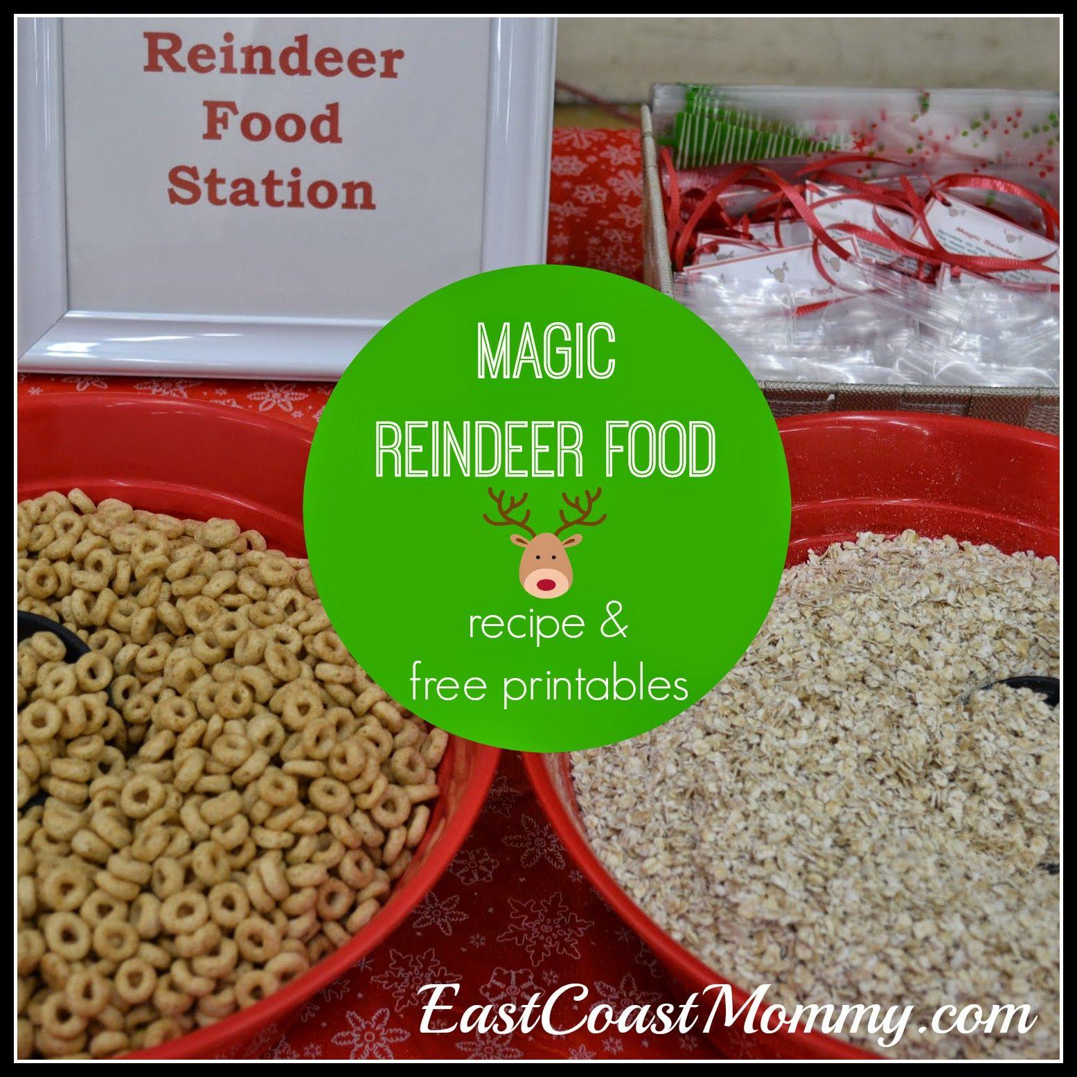 Magic Reindeer Food Magic Reindeer Food Reindeer Food Reindeer