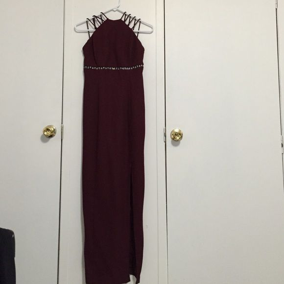 Dress Great for prom or any special occasion . Worn once . Excellent condition Dresses