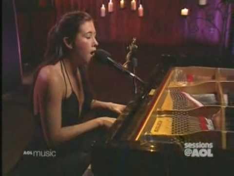 Vanessa Carlton- Who's to Say In Studio AOL HQ
