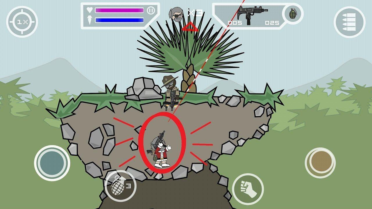 mini militia hack mod apk unlimited health