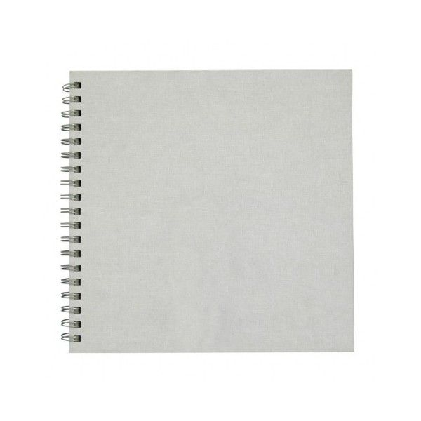 Square white sketchbook ($12) ❤ liked on Polyvore featuring home, home decor, stationery, fillers, books, notebooks, other and items