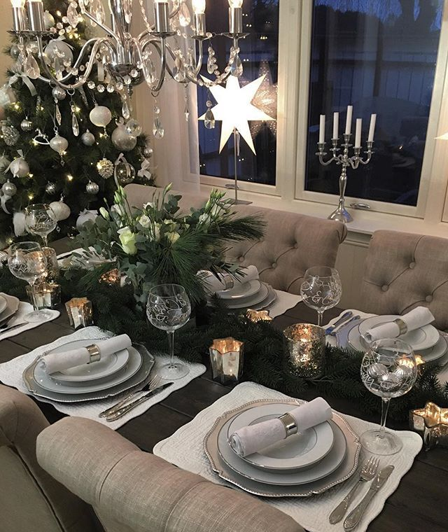 Кристинаkristinashome Рождественский стол S ... Instagram фото | Websta (Webstagram)