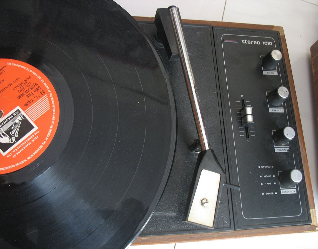 HMV 1010- VINTAGE 4 SPEED STEREO RECORD PLAYER | CLASSIC ...
